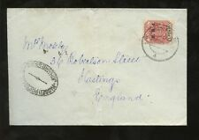 Edward VII (1902-1910) Cover South African Stamps (Pre-1961)