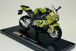MAISTO BMW S1000RR 1:18 DIE CAST MODEL NEW IN BOX MOTORCYCLE