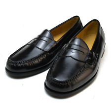 Cole Haan Men's Pinch Penny Black Leather Slip-On Dress Loafers 03503 NEW