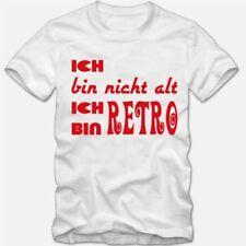 Bequem sitzende Herren-T-Shirts Retro in Größe 3XL