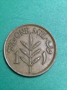1927 British Mandate Palestine 1 Mil KM #1 Foreign Coin