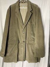 Field Gear Men's Size XLT Tan  Corduroy Sport Coat Jacket