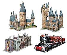Puzzle 2645 pièces 4 Puzzles 3D - Set Harry Potter (55624)