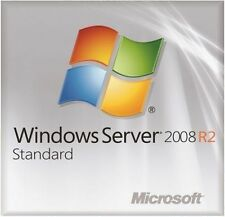 MSFT Window Server 2008 R2 Standard Edition 64 bit x64 1-4CPU plus 10 CAL USERS