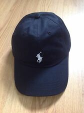 POLO RALPH LAUREN BASEBALL CAP BRAND NEW WITH TAG  BLACK AND WHITE SMALL PONY