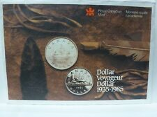 1985 - PL Set- - Canada Proof Like Mint Set - COA and Envelope