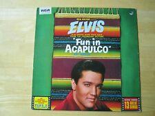 Elvis Presley LP,  Fun In Acapulco, RCA # PL 42357, Made in England