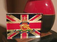 Royal Artillery Regiment Union Jack Premium Acrylic Block, Perfect Gift