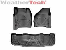 WeatherTech DigitalFit FloorLiner Ford Super Duty SuperCrew - 1999-2007 - Black