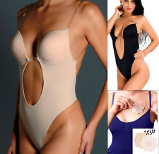 afc04c0133f2f Backless Full Body Shaper Thong Convertible Seamless Low Back invisible  shaper