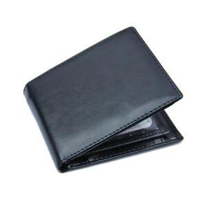 Men's Leather Vintage Short Wallet Credit Card Coin Holder Business Purse Gift