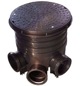 320mm Manhole Inspection Chamber Cover/Lid Riser Base Socket Plug