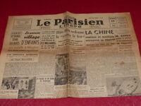 """[PRESSE WW2 39-45] """"LE PARISIEN LIBERE"""" #  313 / 17 AOUT 1945 Hiro Hito Japon"""