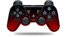 Skin for PS3 Controller Smooth Fades Red Black CONTROLLER NOT INCLUDED