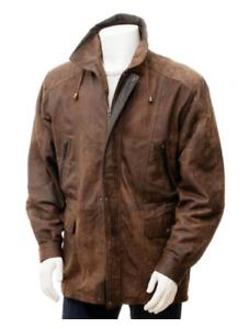 Bigdans.Larger mens Brown Leather jackets. sizes S/ M/ L /XL/ 2XL/3XL/4XL