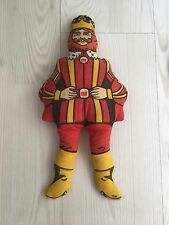 """BURGER KING """"THE KING"""" VINTAGE 13INCH STUFFED FIGURE DOLL 1970'S"""