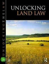 Unlocking Land Law (Unlocking the Law), Bray, Judith, Very Good condition, Book