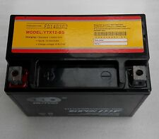YTX12-BS Motorcycle Battery for Suzuki GSXR750W VL800 Intruder Volusia GSX-R1000