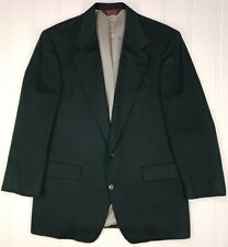 Nordstrom Green Cashmere Sport Coat 44L Loro Piana Fabric 2 Button Mens Size Sz