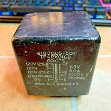 Filament Transformer forTube Amp 6.3V 5A 8180005-501 Western Electric, Etc