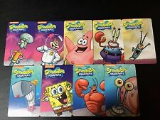 Complete Set Spongebob Pineapple Arcade Coin Pusher Cards with RARE Gary Snail