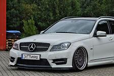 Spoilerschwert Frontspoiler Cuplippe ABS Mercedes Benz C-Klasse W204 AMG ABE