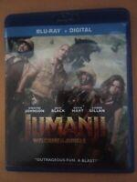 Jumanji: Welcome to the Jungle (Blu-ray 2018)