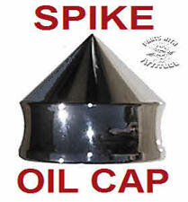 POLISHED ALUMINUM SPIKE OIL CAP FOR HARLEY ELECTRA / ROADKINGS/DYNA/TOURING  #2