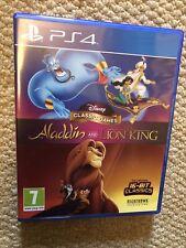 Disney Juegos Clásicos Aladdin Y El Rey León-Playstation 4 PS4 Juego