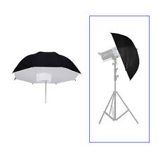 "110cm/43"" Photo Studio Umbrella Softbox Brolly Reflector For Flash Strobe Light"
