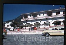 1959 Kodachrome photo slide  Taxco Loma Linda Mexico car