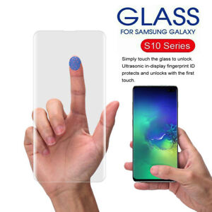 Full Cover Tempered Glass Screen Protector For Samsung Galaxy S10 Note 10 Plus