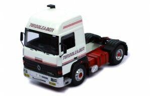 IXO MODELS TR089 Renault R370 Turboleader 1987 White/Decor  1:43
