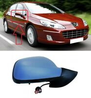 FOR PEUGEOT 407 2004-2010 NEW WING MIRROR ELECTRIC PRIMED 6PIN RIGHT O/S LHD
