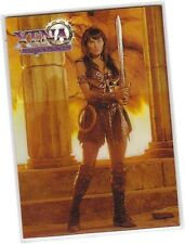 "Xena The Warrior Princess Series 1 - C2 ""Refractor"" Chromium Card * Imperfect *"