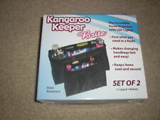 Brand New Kangaroo Keeper with LED Lights Black Set of 2 1 Large 1 Medium