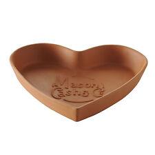 Mason Cash Terracotta Tear and Share 31cm Heart Shaped Bread Form Baking Dish
