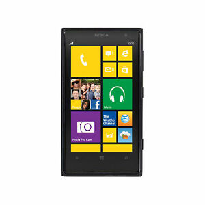 Nokia Lumia 1020 909 Black Microsoft Windows Mobile Cell Phone 32GB Unlocked