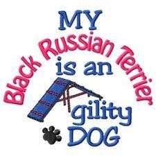 My Black Russian Terrier is An Agility Dog Fleece Jacket - Dc2090L Size S - Xxl
