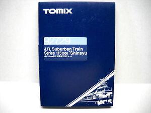 "TOMIX N SCALE J.R.SUBURBAN ELECTRIC TRAIN ""SHINSYU"" 92729"