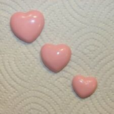 Pink Heart Bubble Wall Plaques - Vintage & Retro Mermaid and Fish Bath
