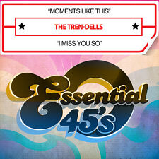 Tren-Dells - Moments Like This / I Miss You So [New CD] Manufactured On Demand