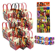 36pc Disney Incredibles 2 Movie Birthday Party Favor Set Bag, pencil, stampers