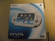 NEW PlayStation PS VITA Console Wi-Fi model Crystal White PCH-1000 ZA02