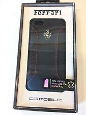 Ferrari Scuderia Black Leather  Iphone 5c Case TFR4902 Algar Ferrari On Sale!!
