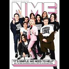 Keanu Reeves - Robbie Williams - Pet Shop Boys - The 1975 NME magazine Feb 2017