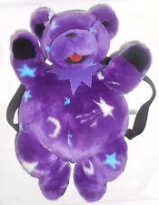 Grateful Dead Backpack Book Bag DARK STAR Dancing Bear by Liquid Blue - Purple
