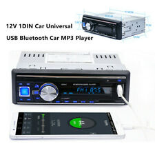 12V 1DIN Car Universal USB Bluetooth Car MP3 Player Card Radio CD  DVD FM Player