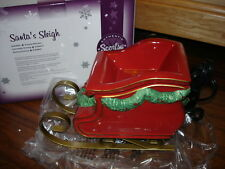 Scentsy Element Warmer ~ SANTA'S SLEIGH ~  New ~ Chistmas Holiday