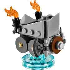 Lego Dimensions Lord Of The Ring 71220 Axe Chariot & Base Only Minifigure D44